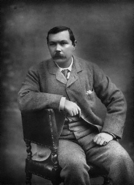 Sir Arthur Ignatius Conan Doyle, by Herbert Rose Barraud